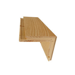 stair nosing + TYP E | Wood stairs | Admonter Holzindustrie AG