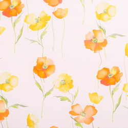 Poppies | 15726 | Curtain fabrics | Dörflinger & Nickow