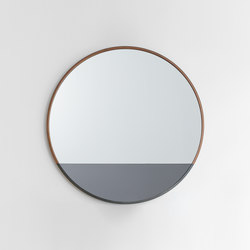 Waterline Mirror Round | Specchi | Uhuru Design