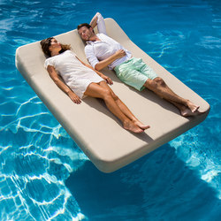 Jackie | floating lounger twin extra soft | Sdraio da giardino | Mr Blue Sky