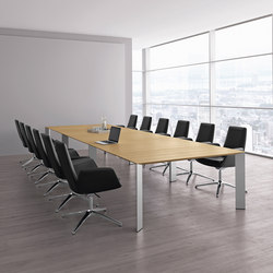 Paper meeting table | Scrivanie individuali | RENZ