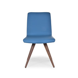 Flo sidechair wood cone | Chairs | Riccardo Rivoli Design