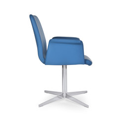 Flo armchair star | Conference chairs | Riccardo Rivoli Design