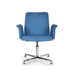 Flo armchair tecno | Conference chairs | Riccardo Rivoli Design