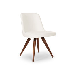 Marlene 100 wood cone | Visitors chairs / Side chairs | Riccardo Rivoli Design