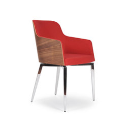 Marlene 200w quadra | Visitors chairs / Side chairs | Riccardo Rivoli Design