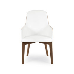 Marlene 210w wood | Chairs | Riccardo Rivoli Design