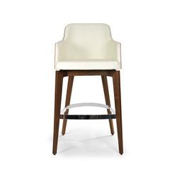 Marlene barstool 200w wood | Taburetes de bar | Riccardo Rivoli Design