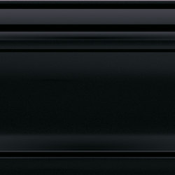 Atelier & Purity | Listel Atelier Black Glossy-Dk | Carrelage | Dune Cerámica