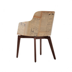 Marlene 200 history wood | Chairs | Riccardo Rivoli Design