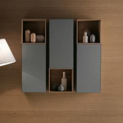 Quattro.Zero Meubles sous-lavabo | Armoires de salle de bains | Falper