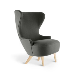 Micro Wingback Chair Natural Leg Hallingdal 65 | Fauteuils d'attente | Tom Dixon