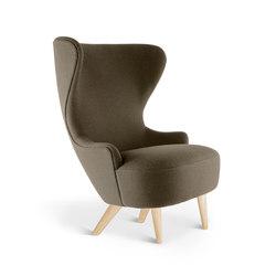 Micro Wingback Chair Natural Leg Hallingdal 65 | Armchairs | Tom Dixon