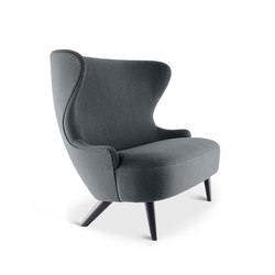 Micro Wingback Sofa Black Leg Hallingdal 65 | Sofas | Tom Dixon