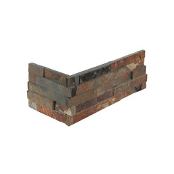 Brick | Oxido Brick Corner | Natural stone tiles | Dune Cerámica