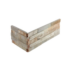 Brick | Quarzita Brick Corner | Natural stone tiles | Dune Cerámica