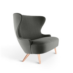 Micro Wingback Sofa Copper Leg Hallingdal 65 | Loungesofas | Tom Dixon
