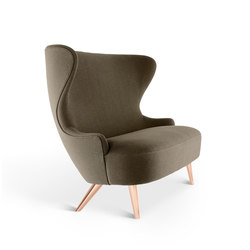 Micro Wingback Sofa Copper Leg Hallingdal 65 | Sofas | Tom Dixon