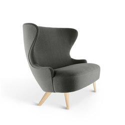 Micro Wingback Sofa Natural Leg Hallingdal 65 | Loungesofas | Tom Dixon