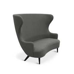 Wingback Sofa Black Leg Hallingdal 65 | Loungesofas | Tom Dixon