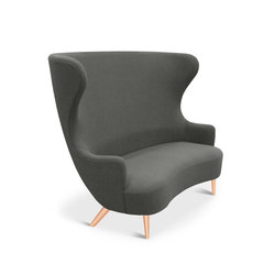 Wingback Sofa Copper Leg Hallingdal 65 | Loungesofas | Tom Dixon