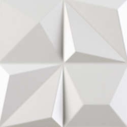 Shapes | Multishapes White | Ceramic tiles | Dune Cerámica