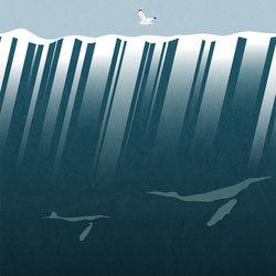 Below The Sea Face | Carta da parati / carta da parati | LONDONART