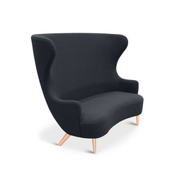 Wingback Sofa Copper Leg Hallingdal 65 | Sofás lounge | Tom Dixon