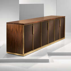 Fortis | Freestanding Credenza | Caissons | Cumberland Furniture