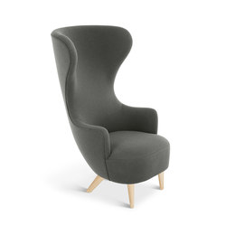 Wingback Chair Natural Leg Hallingdal 65 | Fauteuils d'attente | Tom Dixon