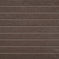 Concrete Brown | stripes | Keramik Fliesen | Gigacer