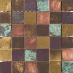 Venezia | Bronzo | Wall mosaics | Dune Cerámica