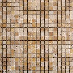 Venezia | Mosaico Travertino Dados | Naturstein Mosaike | Dune Cerámica