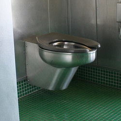 Euro-Urban Toilet Configured for In-Wall Flushing System | WCs | Neo-Metro