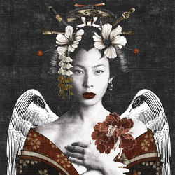 Geisha | Wall coverings / wallpapers | LONDONART
