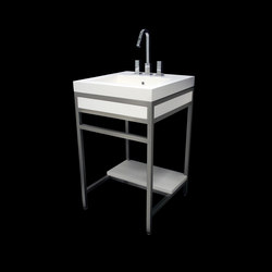 Slab Cast Solid Surface Console | Vanity units | Neo-Metro