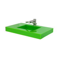Slab Wall Mounted Cast Solid Surface Deck | Lavabos | Neo-Metro
