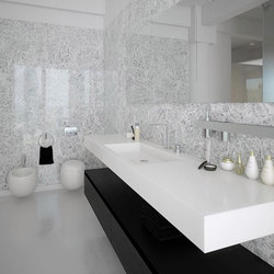 Slab Wall Mounted Cast Solid Surface Deck   Lavabi   Neo-Metro