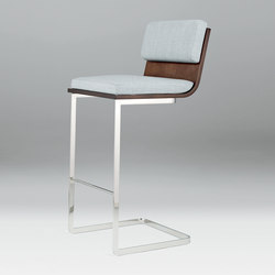 Li | Backed Stool | Taburetes de bar | Cumberland Furniture