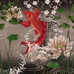 Koi | Wall coverings / wallpapers | LONDONART