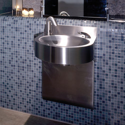 Curved Front, Wall Mounted System M2 Basin | Wash basins | Neo-Metro
