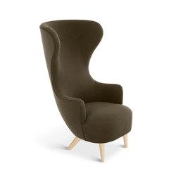 Wingback Chair Natural Leg Hallingdal 65   Armchairs   Tom Dixon