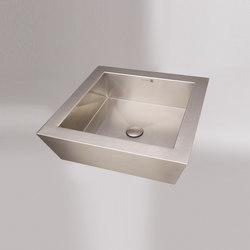 Vizza Square Vessel | Wash basins | Neo-Metro
