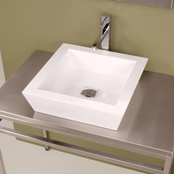 Vizza Square Vessel | Wash basins | Neo-Metro