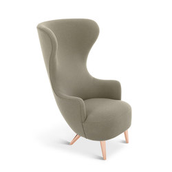 Wingback Chair Copper Leg Hallingdal 65 | Sillones lounge | Tom Dixon