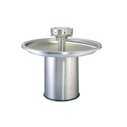 Free Standing Circular Stainless Steel Wash Fountain | Lave-mains | Neo-Metro
