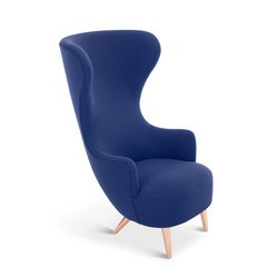 Wingback Chair Copper Leg Hallingdal 65 | Loungesessel | Tom Dixon