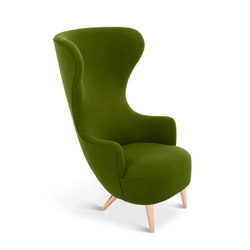 Wingback Chair Copper Leg Hallingdal 65 | Armchairs | Tom Dixon