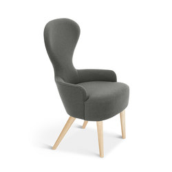 Wingback Dining Chair Natural Leg Hallingdal 65 | Visitors chairs / Side chairs | Tom Dixon