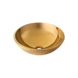 Washbasin Future Gold | Wash basins | Dune Cerámica